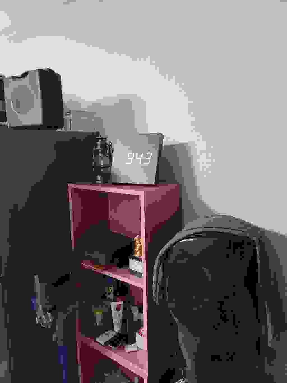코비 사각형 ED 나무 벽걸이 디지털 무소음 우드 시계 A100  리뷰 후기