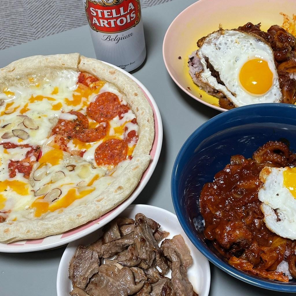 바른피자생활 냉동피자 3종 세트 고르곤졸라 페퍼로니 오리지날 치즈 피자  리뷰 후기
