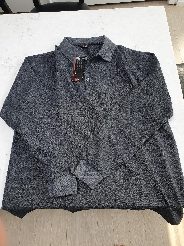 다꾸앙 남성용 간편포켓 PK 긴팔 카라 티셔츠 C04K9_tp1963  리뷰 후기