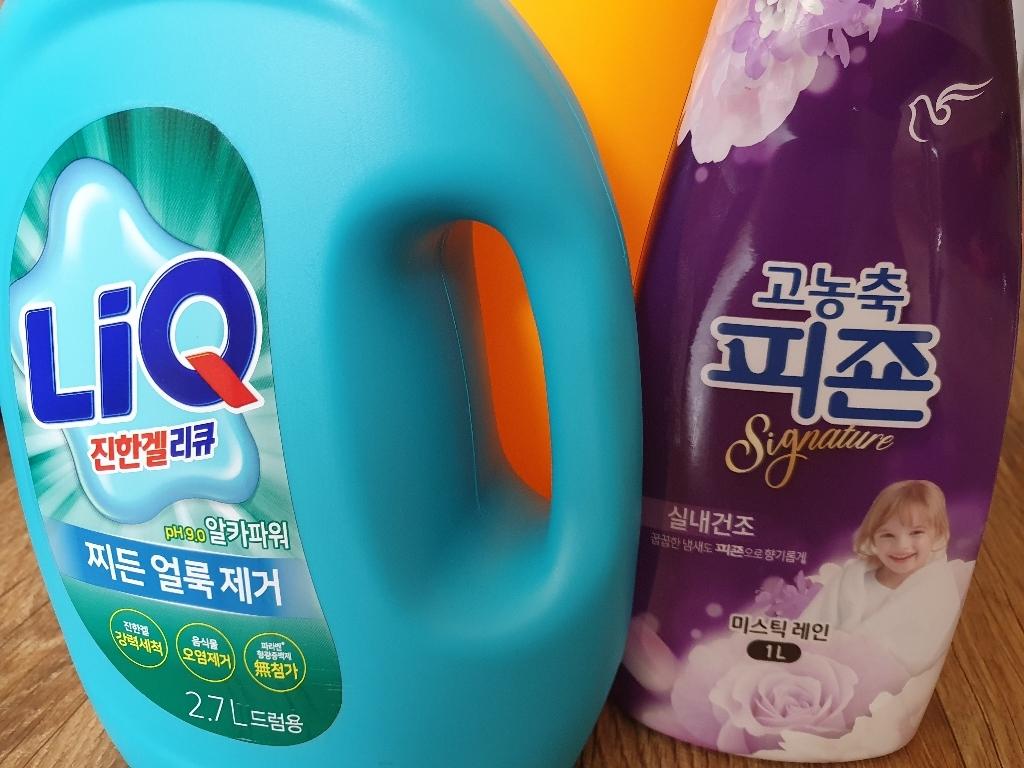 피죤 리치퍼퓸 시그니처 섬유유연제 미스틱레인 본품  리뷰 후기