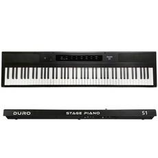 듀로 S1 전자 디지털피아노 88건반, 단품