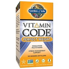 가든오브라이프 비타민 코드 퍼펙트 웨이트 베지테리안 캡슐