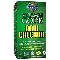 Garden of Life 비타민 코드 로우 칼슘 베지테리안 캡슐