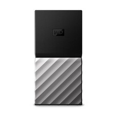 WD My Passport SSD 휴대용 외장하드, 1TB, 블랙 + 메탈그레이