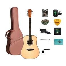 고퍼우드 어쿠스틱 기타 G100 + 구성품 13종, NS