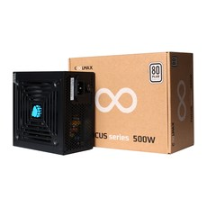 COOLMAX FOCUS 500W 80Plus 230V EU ATX 파워 SG-500D12S