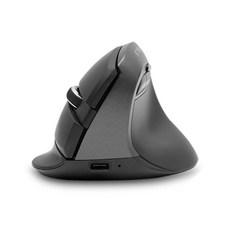 제닉스 버티컬 무선 블루투스 마우스 STORMX VM, 블랙