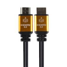 포엘지 HDMI 2.0 케이블 골드, 1개, 1.8m