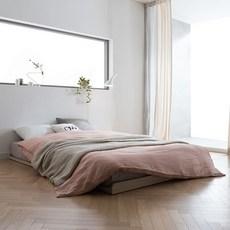 리바트 뉴트 저상형 침대 기본형, 오크