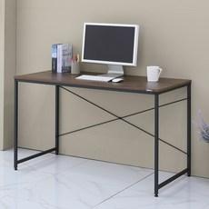 쿠퍼 티크무늬목 컴퓨터 책상 멀티 1200, 블랙
