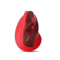 아이리버 손목보호 적외선 버티컬 무선마우스, EQwear-EV1, 레드