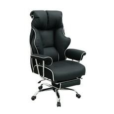 아르네스 게이밍 의자, 블랙 + 화이트