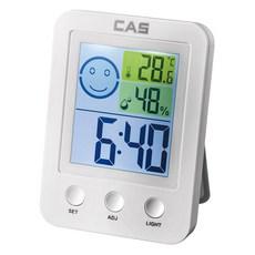 카스 백라이트 디지털 온습도계 T027, 1개