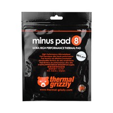 ThermalGrizzly minus pad8 CPU쿨러 120 x 20 x 1 mm 2p