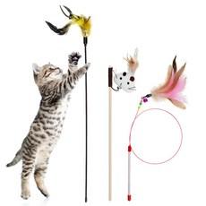 탐사 고양이 낚시대, 3개입