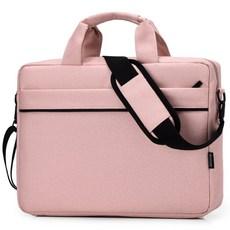 TCR 심플 노트북 가방, 핑크
