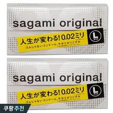 사가미 신형 오리지널 콘돔 라지 0.02mm, 2개, 6개입