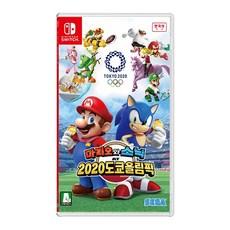 닌텐도 SWITCH 마리오와 소닉 2020도쿄올림픽 한글판