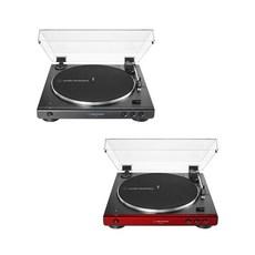 오디오테크니카 자동 벨트 드라이브 무선 블루투스 턴테이블, AT-LP60XBT(블랙)