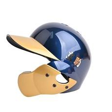 도코마 도쿠마 야구헬멧 투톤검투사헬멧 외귀 우타자(네이비골드유광), XL(60cm~61cm)-검투사우타
