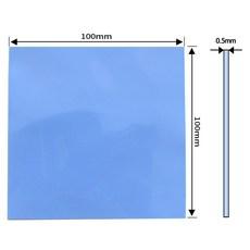 쿨러 써멀패드 Thermal Pad 쿨링 방열 열전도패드 100 x 0.5mm