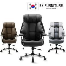 EX퍼니처 EX200 게이밍 컴퓨터 PC방 의자, 브라운