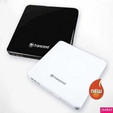 트랜센드 Extra Slim Portable CD DVD Writer ODD TS8XDVDS, TS8XDVDS-K(Black)