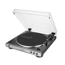 오디오테크니카 자동 벨트 드라이브 턴테이블, AT-LP60X(건메탈)