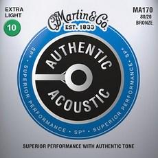 마틴기타줄 어센틱시리즈 MA140 MA150 MA170