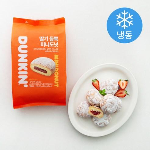 던킨 딸기 듬뿍 미니도넛 (냉동)