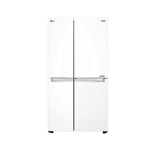 LG전자 디오스 양문형 냉장고 화이트 S833W32 821L 방문설치
