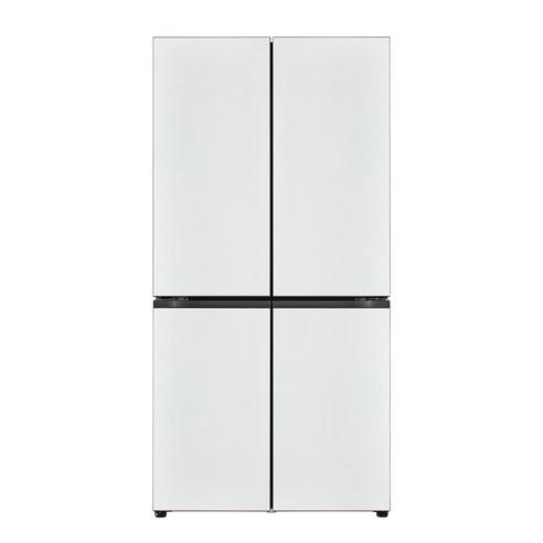 LG전자 오브제컬렉션 매직스페이스 상냉장 하냉동 냉장고 M871MWW041S 870L 방문설치