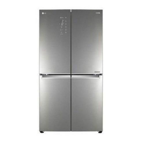 LG전자 DIOS 더블매직스페이스 4도어 양문형 냉장고 870L F873SN55E