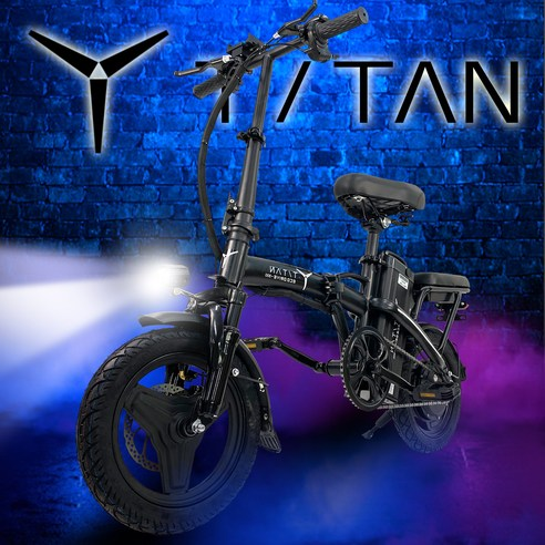 에코드라이브 타이탄 미니바이크 전동킥보드 48V 350w 10A 키박스 분리형배터리 스쿠터 전기자전거